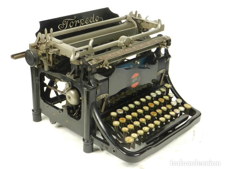 RARA TORPEDO MOD.5 AÑO 1911 MÁQUINA DE ESCRIBIR TYPEWRITER SCHREIBMASCHINE (Antigüedades - Técnicas - Máquinas de Escribir Antiguas - Otras)