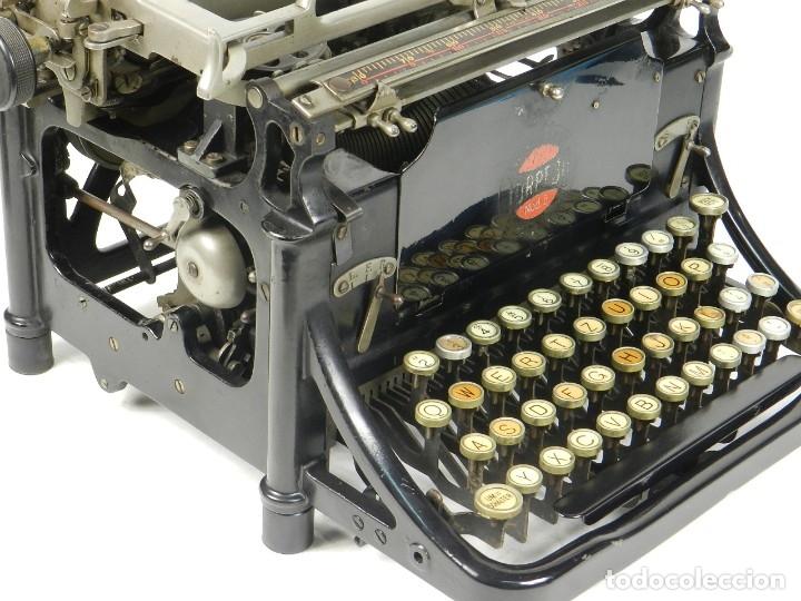 Antigüedades: RARA TORPEDO Mod.5 AÑO 1911 Máquina de escribir Typewriter Schreibmaschine - Foto 2 - 168851940