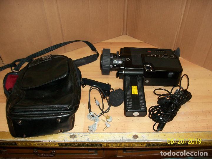 CAMARA CANON -CONOSOUND-MODELO 514XL-S-8 MM-COMPLETA-FUNCIONA (Antigüedades - Técnicas - Aparatos de Cine Antiguo - Cámaras de Super 8 mm Antiguas)