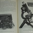 "Antigüedades: MICROSCOPIO. LIBRO VINTAGE ""THE MICROSCOPE, A SIMPLE HANDBOOK"" 1930. Lote 168952636"