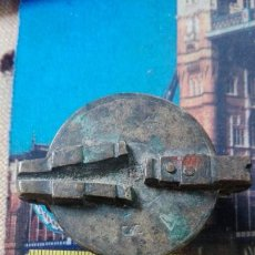 Antigüedades: PONDERAL DE VASOS ANILLADOS MUY ANTIGUO. Lote 169026180