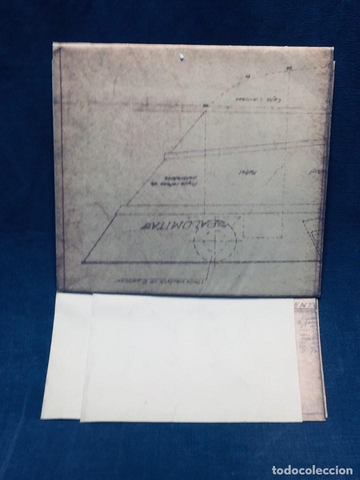 Antigüedades: PLANO PALOMITA LANCHA RAPIDA DE 15,80M ESCALA 1:20 SALVAMENTO CONTRA INCENDIOS Y LUCES 30,5X21CMS - Foto 8 - 169072468