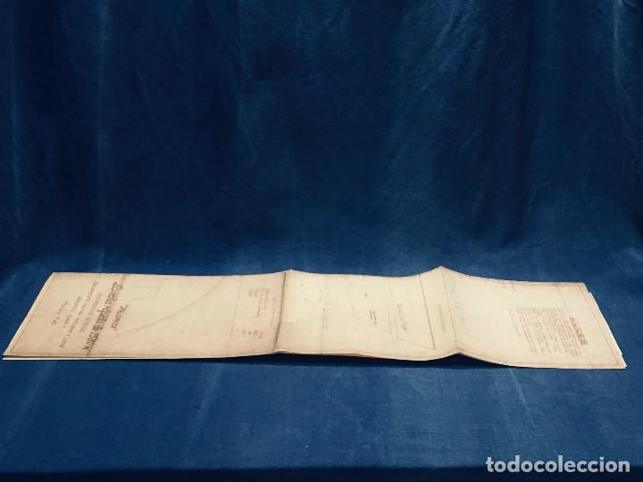 Antigüedades: PLANO PALOMITA LANCHA RAPIDA DE 15,80M ESCALA 1:20 SALVAMENTO CONTRA INCENDIOS Y LUCES 30,5X21CMS - Foto 13 - 169072468