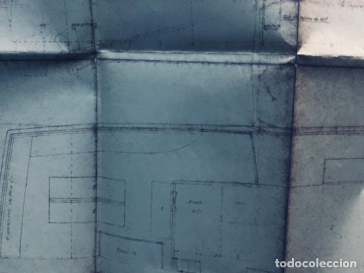 Antigüedades: PLANO PALOMITA LANCHA RAPIDA DE 15,80M ESCALA 1:20 SALVAMENTO CONTRA INCENDIOS Y LUCES 30,5X21CMS - Foto 7 - 169072468