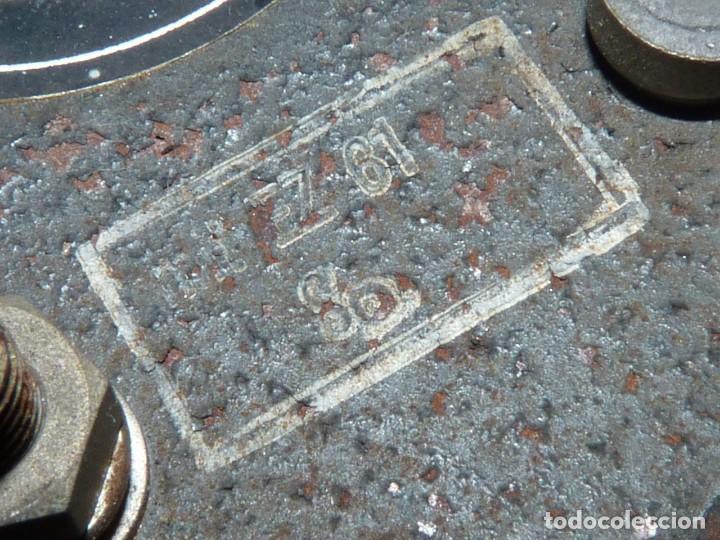 Antigüedades: RARO CUENTA KILOMETROS TREN DEUTA WERKE C/KM VELOCIMETRO FERROCARRIL 1961 COLECCION - Foto 8 - 169132072