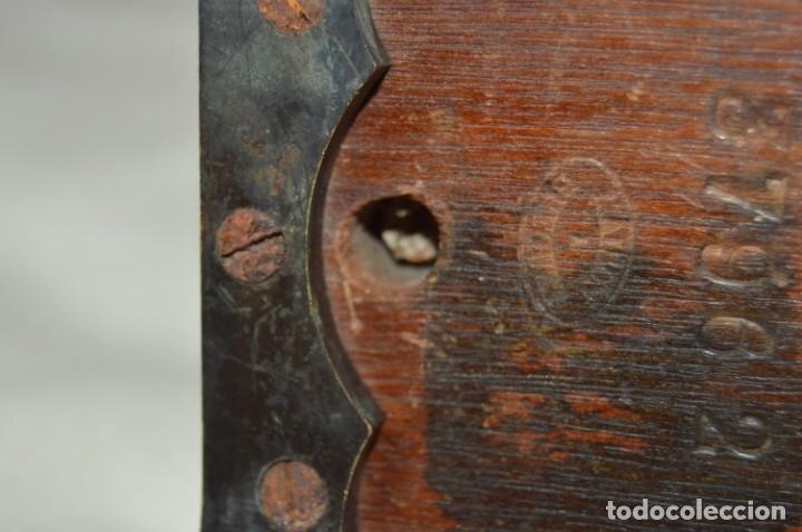Antigüedades: Relé Telegráfico MAISON BREGUET - Finales 1800 RELAIS TELEGRAPHIQUE BAUDOT - EARLY TELEGRAPH RELAY - Foto 13 - 169177725