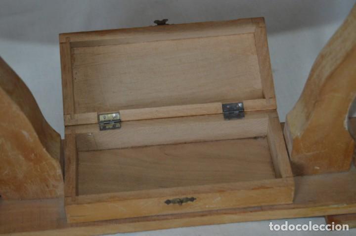 Antigüedades: VINTAGE - Antiguo BASTIDOR o TAMBOR de BORDAR, en madera, muy antiguo, mira fotos y detalles - Foto 5 - 169179136
