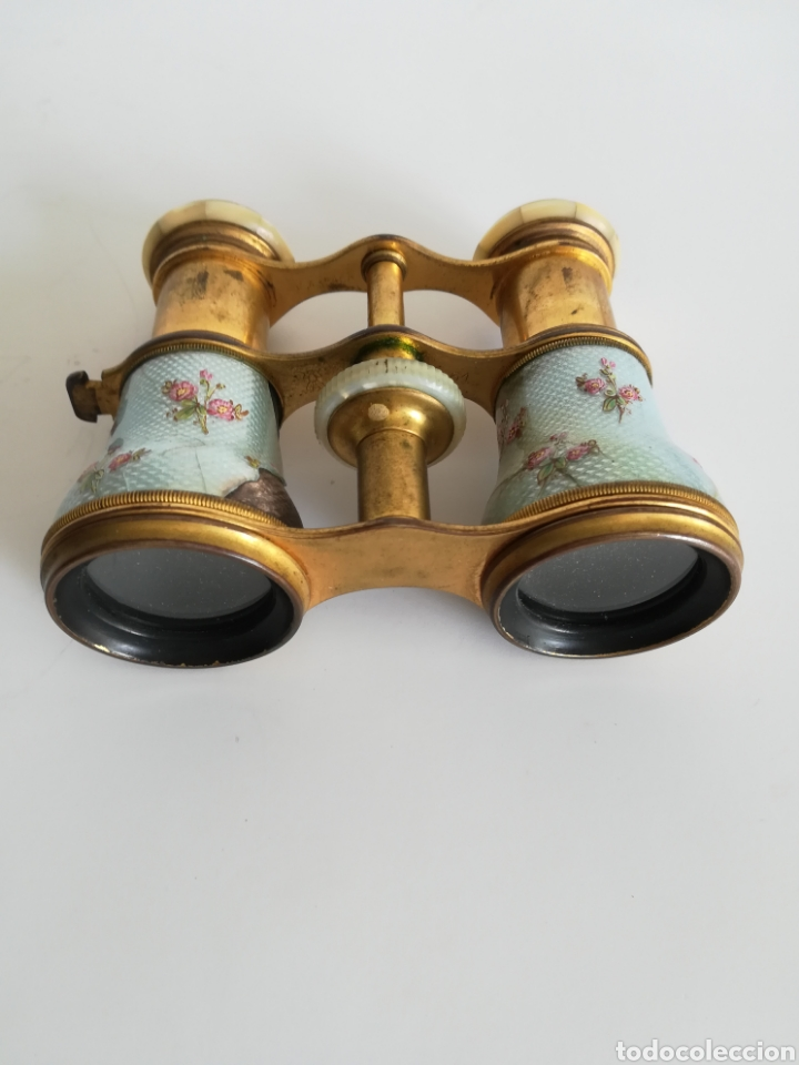 Antigüedades: Antiguos prismáticos Lemaire Fabi - París - Binoculares Teatro Ópera - Foto 2 - 169192388