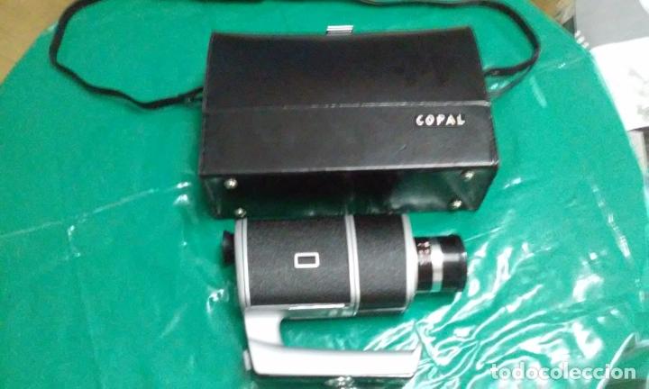 ANTIGUA-VINTAGE CAMARA TOMAVISTAS Y MALETÍN COPAL SEKONIC COPAL EYE 300 (SUPER 8 MM, JAPAN) (Antigüedades - Técnicas - Aparatos de Cine Antiguo - Cámaras de Super 8 mm Antiguas)
