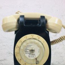 Teléfonos: TELÉFONO VINTAGE FRANCÉS TELIC STRASBOURG TELEPHONIE DE PARED AÑOS 70. Lote 169198516