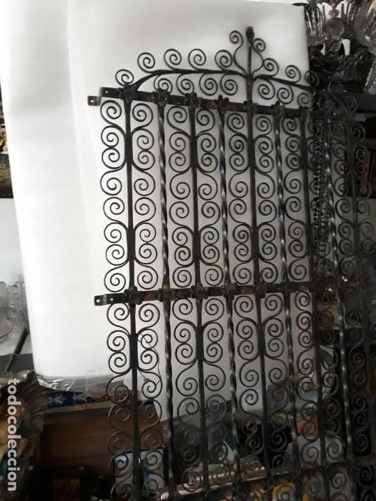 REJA DE FORJA (Antigüedades - Técnicas - Cerrajería y Forja - Forjas Antiguas)