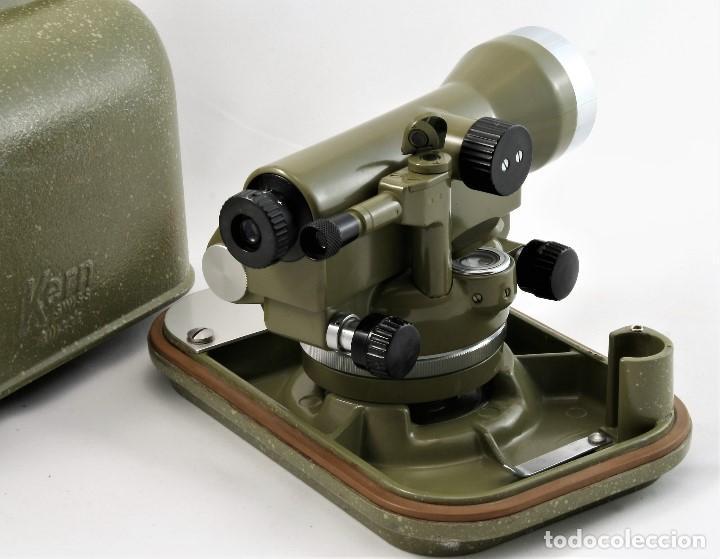 Antigüedades: NIVEL Óptico KERM modelo GK23C Suizo - Foto 2 - 169222068