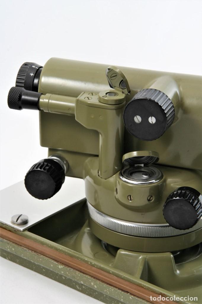 Antigüedades: NIVEL Óptico KERM modelo GK23C Suizo - Foto 5 - 169222068
