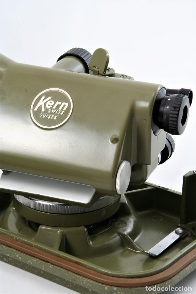 Antigüedades: NIVEL Óptico KERM modelo GK23C Suizo - Foto 6 - 169222068