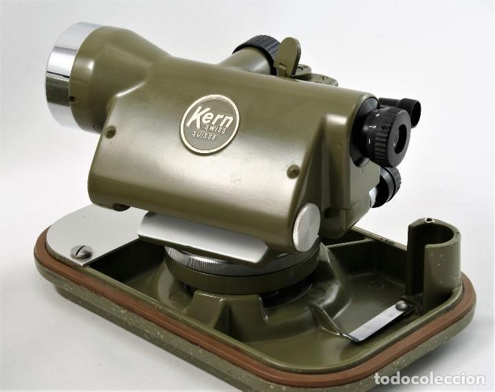 Antigüedades: NIVEL Óptico KERM modelo GK23C Suizo - Foto 7 - 169222068