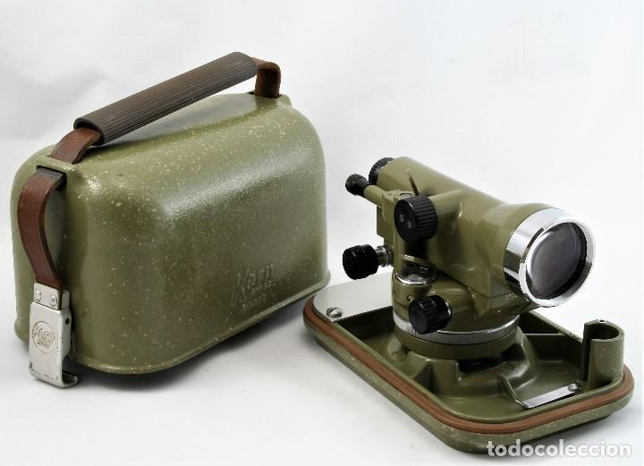 Antigüedades: NIVEL Óptico KERM modelo GK23C Suizo - Foto 9 - 169222068