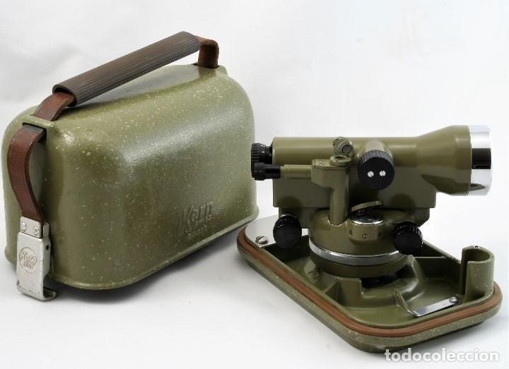 Antigüedades: NIVEL Óptico KERM modelo GK23C Suizo - Foto 10 - 169222068