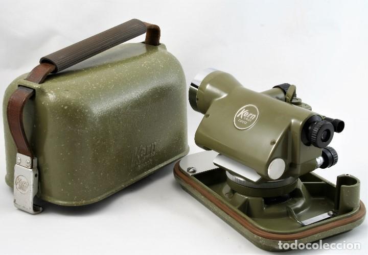 Antigüedades: NIVEL Óptico KERM modelo GK23C Suizo - Foto 11 - 169222068