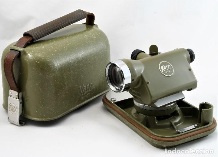 Antigüedades: NIVEL Óptico KERM modelo GK23C Suizo - Foto 12 - 169222068