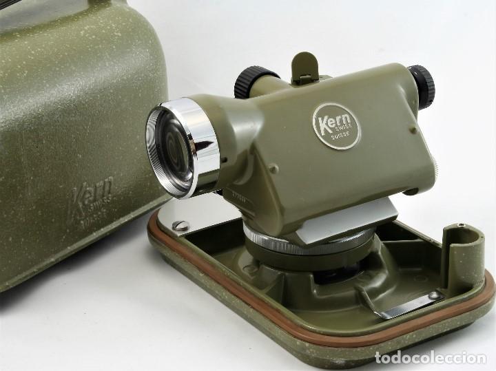 Antigüedades: NIVEL Óptico KERM modelo GK23C Suizo - Foto 14 - 169222068
