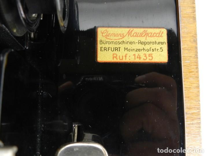 Antigüedades: IMPECABLE MIGNON Nº4 AÑO 1924 Maquina de escribir Typewriter Schreibmaschine - Foto 6 - 169236128