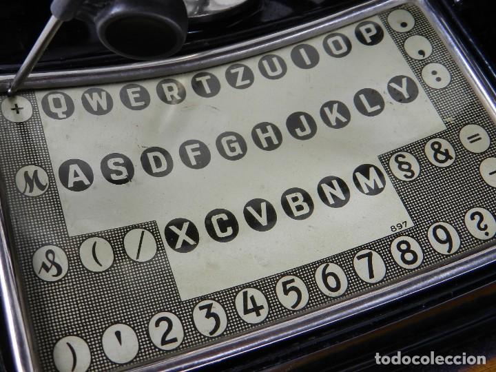 Antigüedades: IMPECABLE MIGNON Nº4 AÑO 1924 Maquina de escribir Typewriter Schreibmaschine - Foto 9 - 169236128
