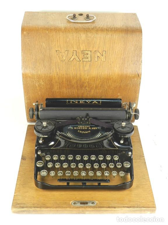 NEYA AÑO 1925 MAQUINA DE ESCRIBIR TYPEWRITER SCHREIBMASCHINE (Antigüedades - Técnicas - Máquinas de Escribir Antiguas - Otras)