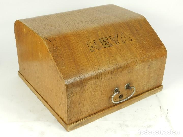 Antigüedades: NEYA AÑO 1925 Maquina de escribir Typewriter Schreibmaschine - Foto 2 - 169237252