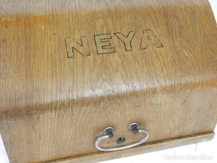 Antigüedades: NEYA AÑO 1925 Maquina de escribir Typewriter Schreibmaschine - Foto 3 - 169237252
