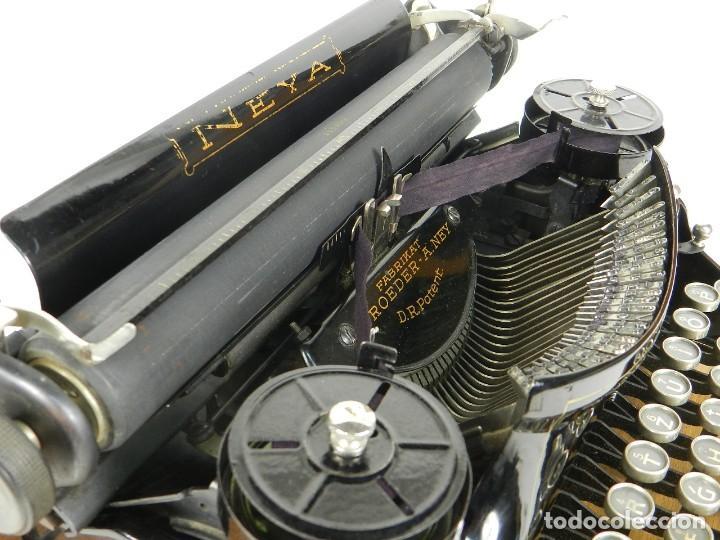 Antigüedades: NEYA AÑO 1925 Maquina de escribir Typewriter Schreibmaschine - Foto 10 - 169237252