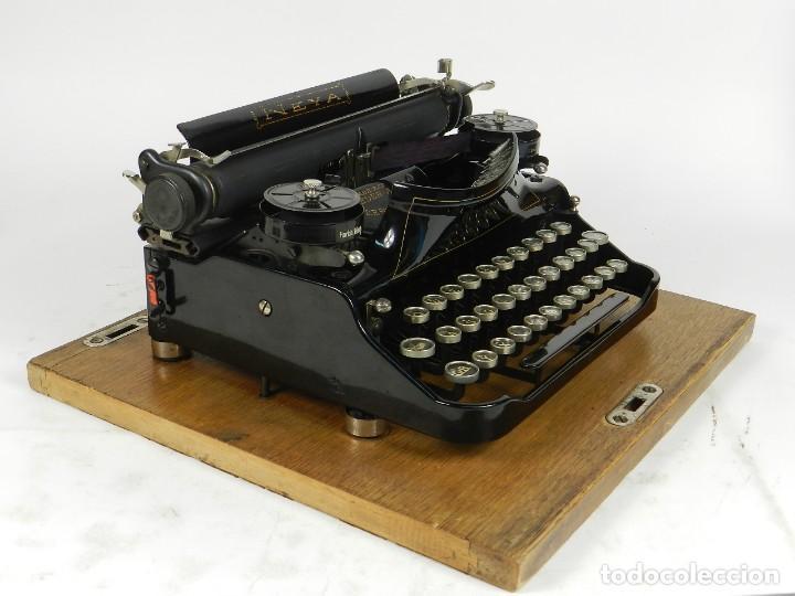 Antigüedades: NEYA AÑO 1925 Maquina de escribir Typewriter Schreibmaschine - Foto 11 - 169237252