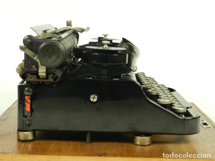 Antigüedades: NEYA AÑO 1925 Maquina de escribir Typewriter Schreibmaschine - Foto 13 - 169237252