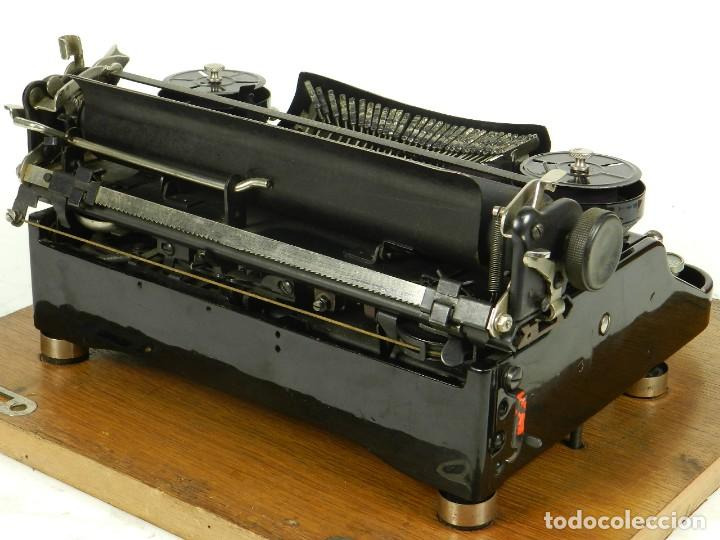 Antigüedades: NEYA AÑO 1925 Maquina de escribir Typewriter Schreibmaschine - Foto 14 - 169237252