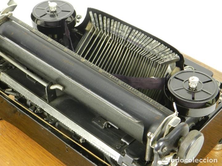 Antigüedades: NEYA AÑO 1925 Maquina de escribir Typewriter Schreibmaschine - Foto 15 - 169237252
