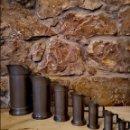 Antigüedades: MEDIDAS DE ESTAÑO ANTIGUAS. Lote 169269994