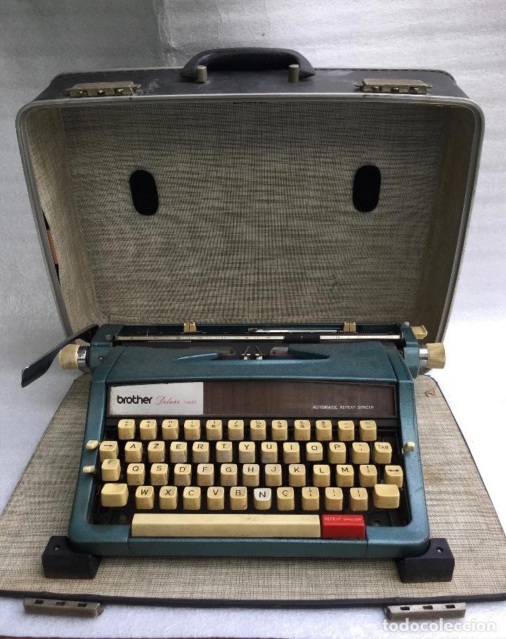 Antigüedades: Máquina de escribir Brother Deluxe 1522 - Foto 3 - 54172178