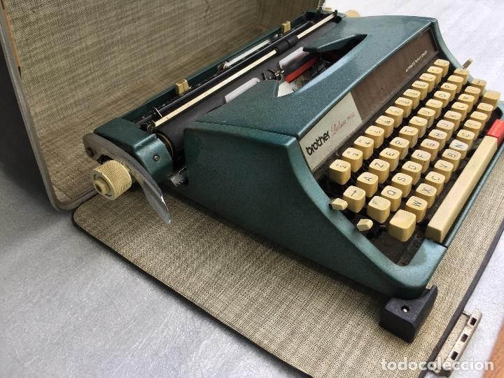 Antigüedades: Máquina de escribir Brother Deluxe 1522 - Foto 9 - 54172178