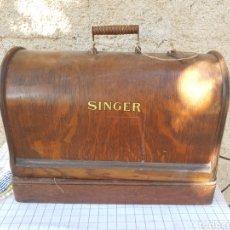 Antigüedades: MAQUINA DE COSER SINGER. Lote 169341514
