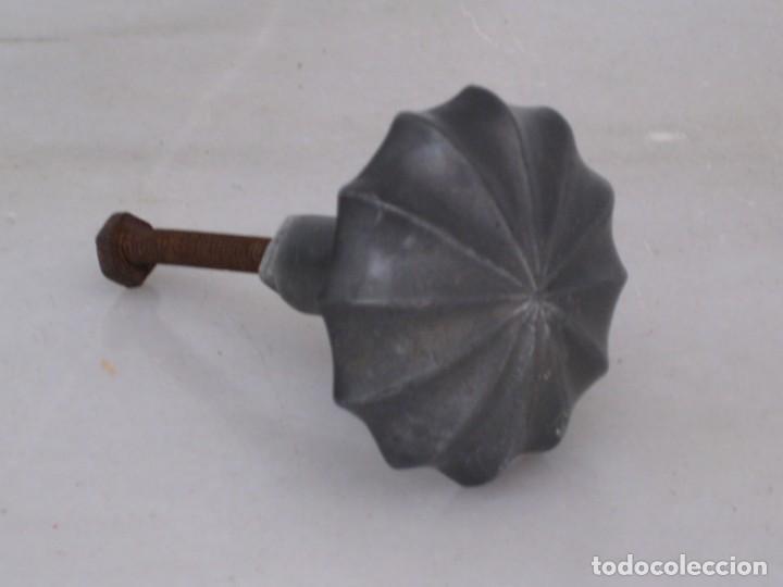 Antigüedades: Antiguo pomo de aluminio. - Foto 6 - 169445072
