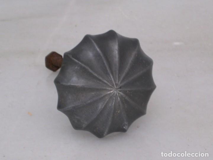 Antigüedades: Antiguo pomo de aluminio. - Foto 7 - 169445072