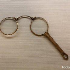 Antigüedades: IMPERTINENTES O GAFAS PLEGABLES, BRONCE,12 CM DE LARGO. Lote 169446972