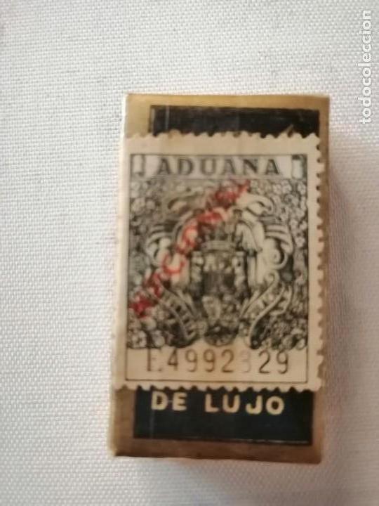 Antigüedades: CAJA CON 10 PAQUETES DE 10 HOJAS CADA UNO DE CUCHILLAS DE AFEITAR IBERIA DE LUJO SIN ABRIR. - Foto 5 - 169454124