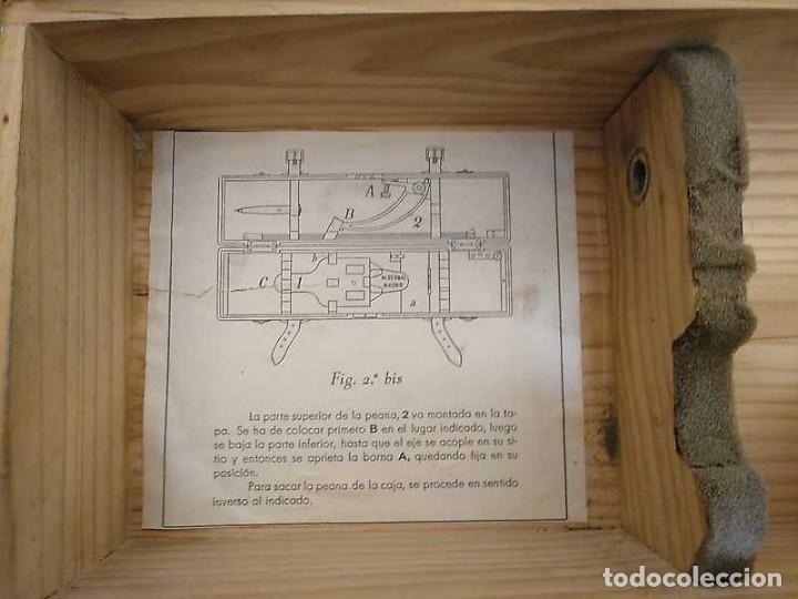 Antigüedades: ANTIGUO PANTOGRAFO M. BERNAL PRECISION MADRID - PANTOGRAPH PANTOGRAPHE KEISANJYAKU - Foto 46 - 169589348