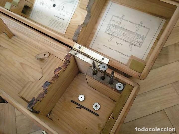 Antigüedades: ANTIGUO PANTOGRAFO M. BERNAL PRECISION MADRID - PANTOGRAPH PANTOGRAPHE KEISANJYAKU - Foto 79 - 169589348