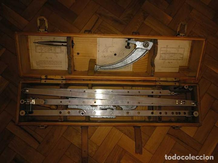Antigüedades: ANTIGUO PANTOGRAFO M. BERNAL PRECISION MADRID - PANTOGRAPH PANTOGRAPHE KEISANJYAKU - Foto 106 - 169589348