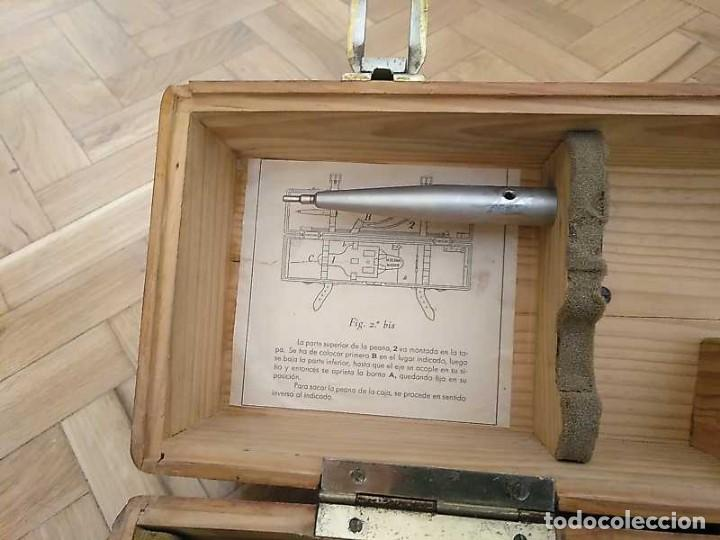 Antigüedades: ANTIGUO PANTOGRAFO M. BERNAL PRECISION MADRID - PANTOGRAPH PANTOGRAPHE KEISANJYAKU - Foto 178 - 169589348