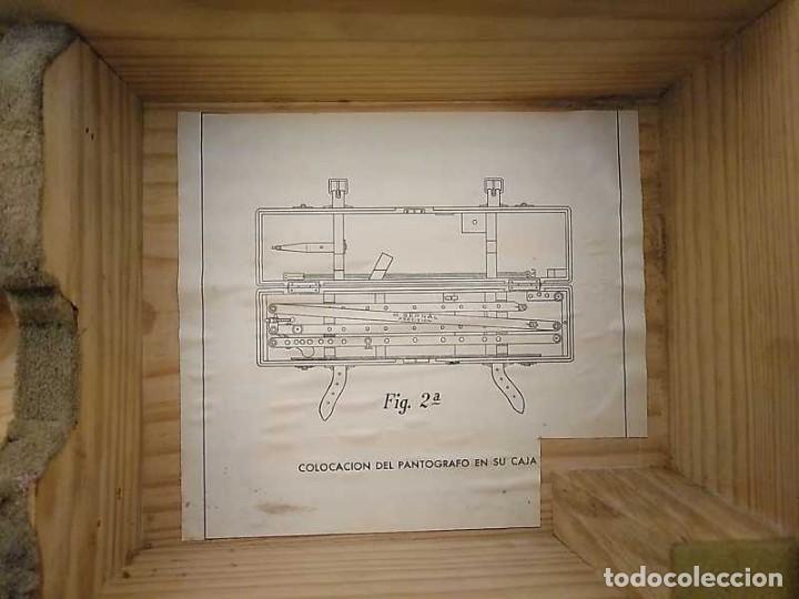 Antigüedades: ANTIGUO PANTOGRAFO M. BERNAL PRECISION MADRID - PANTOGRAPH PANTOGRAPHE KEISANJYAKU - Foto 191 - 169589348