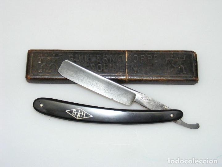 ANTIGUA NAVAJA GERMAN HOPPE Nº14 - CAJA ORIGINAL. (Antigüedades - Técnicas - Barbería - Navajas Antiguas)