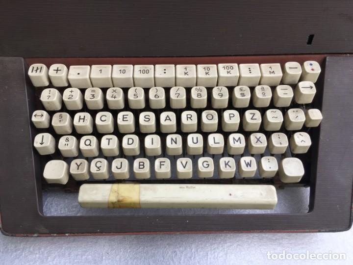 Antigüedades: Máquina de escribir Optima - Foto 2 - 169613840