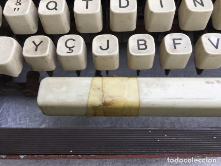 Antigüedades: Máquina de escribir Optima - Foto 3 - 169613840